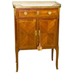 19th Century Louis XVI Style Music Sheet Cabinet