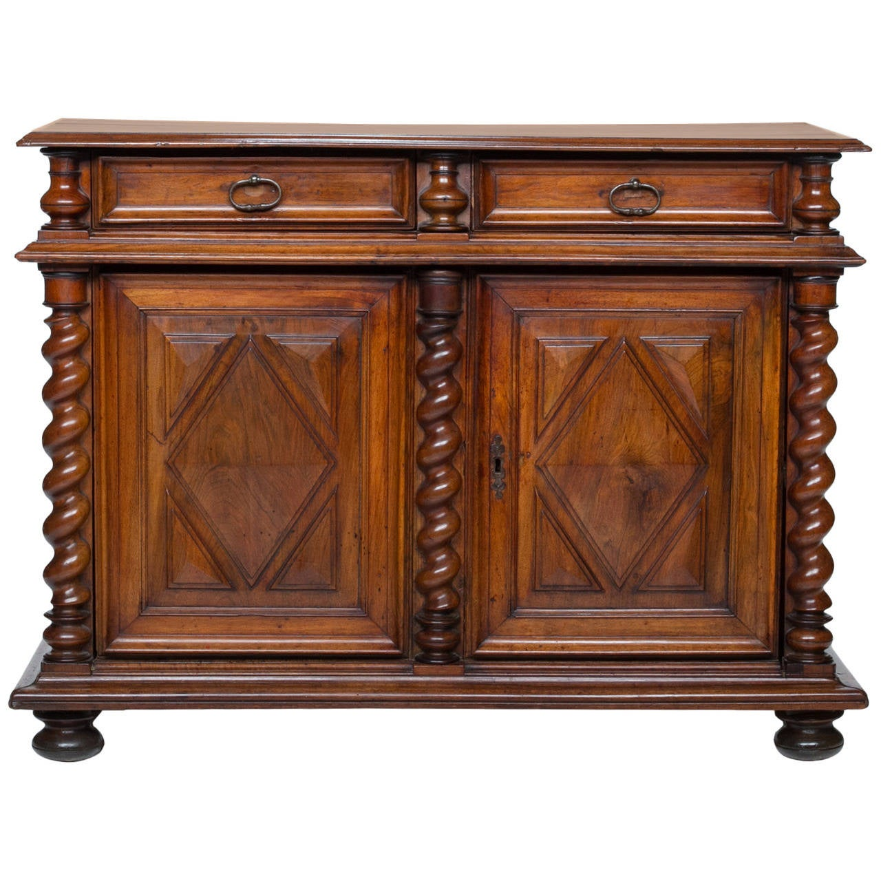 18th Century Louis XIV Walnut Buffet