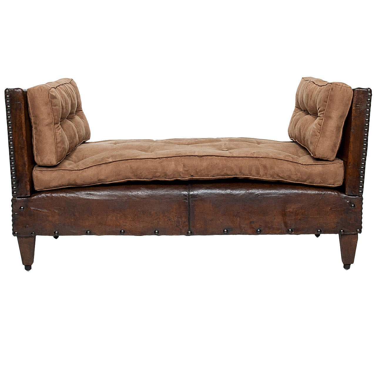 French adjustable daybed at 1stdibs for Arts and crafts daybed
