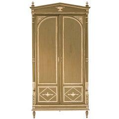 19th Century Neoclassical Style Corner Cabinet