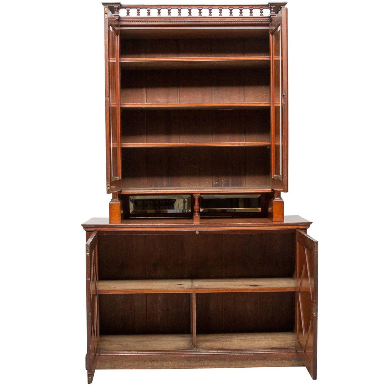 Unusual Edwardian Bookcase Circa 1910 At 1stdibs