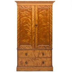 Heal and Sons of London Satin Birch Linen Press