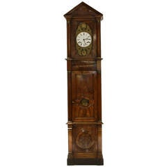 Monumental French Empire Tall Case Horlogue