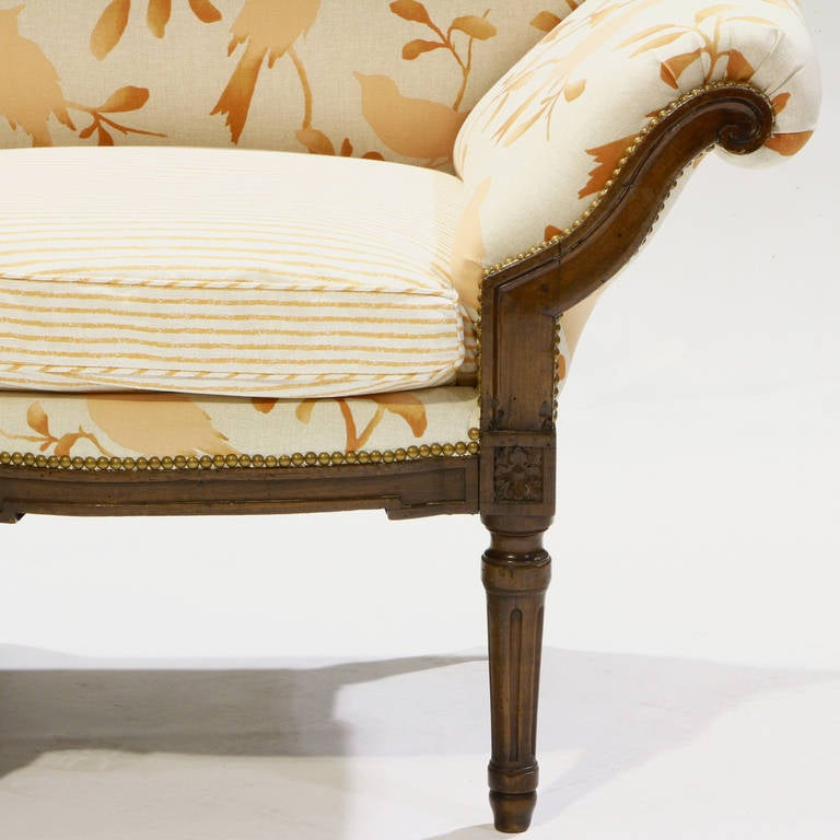 louis xv walnut canap image 4. Black Bedroom Furniture Sets. Home Design Ideas