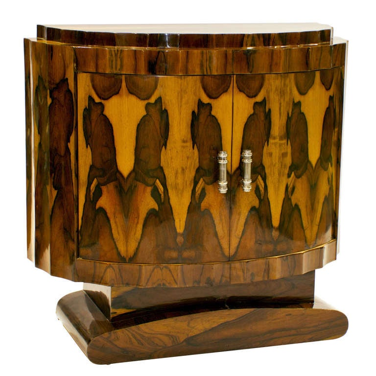 vintage art deco style rosewood server from europe at 1stdibs. Black Bedroom Furniture Sets. Home Design Ideas