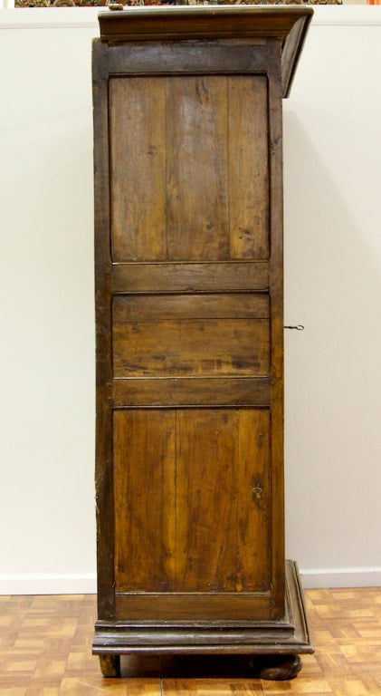 An impressive french walnut armoire but small porportions at 1stdibs - Armoire petite hauteur ...