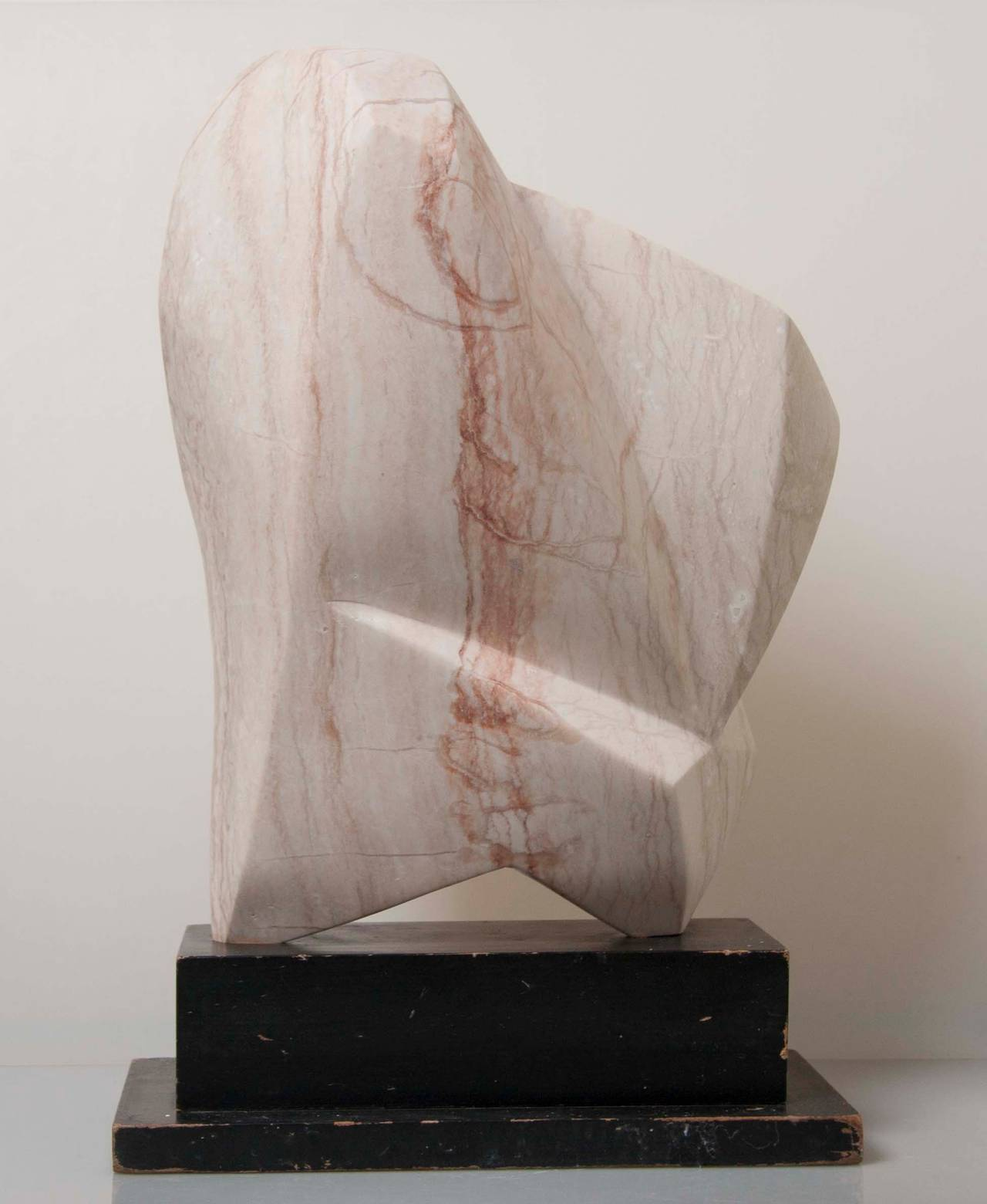 Abstract Marble Sculpture by Emile Gilioli For Sale 1