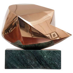 """La Petite Sphere"" Bronze Abstract Sculpture by Emile Gilioli"