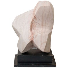 Abstract Marble Sculpture by Emile Gilioli