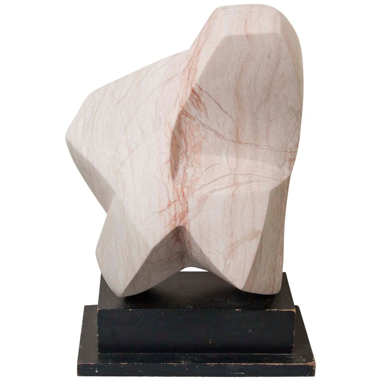 Abstract Marble Sculpture by Emile Gilioli For Sale