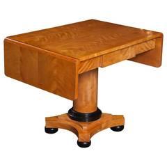 Biedermeier Satinwood Sofa Table