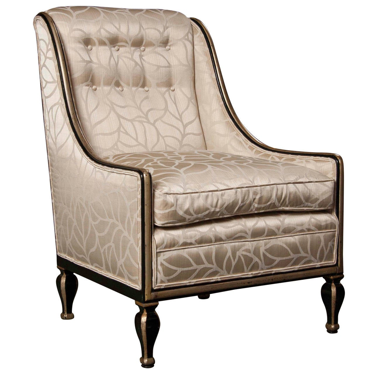 Beautifully Upholstered Art Deco Armchair