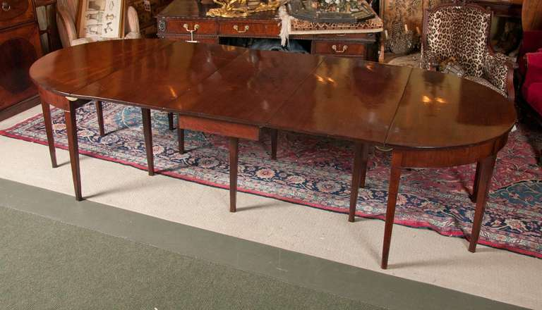 English Georgian Dining Table For Sale At 1stdibs