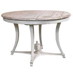 Gustavian Center Table