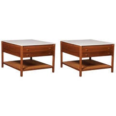 Pair of Side Tables by Paul McCobb for Calvin