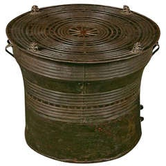 Southeast Asian Bronze Rain Drum