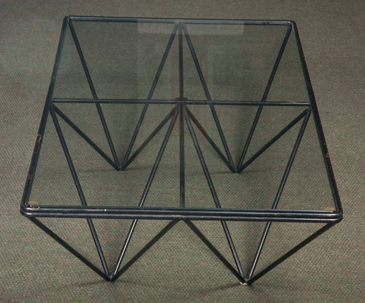 Glass Alanda Coffee Table in the Style of Paolo Piva For Sale