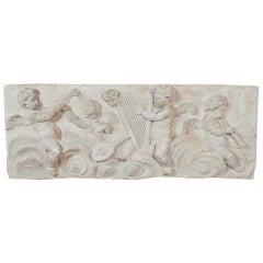 19th Century Plaster Frieze