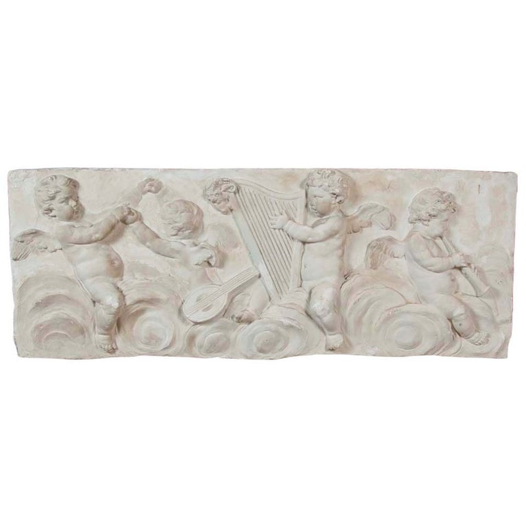 19th Century Plaster Frieze For Sale