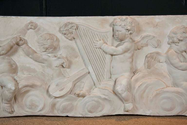 American 19th Century Plaster Frieze For Sale