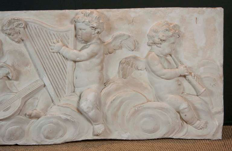 19th Century Plaster Frieze In Good Condition For Sale In Stamford, CT