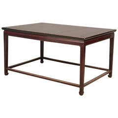 Monumental Chinese Black Lacquer Center Table