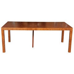 A Parsons Dining Table designed by Milo Baughman for Directional