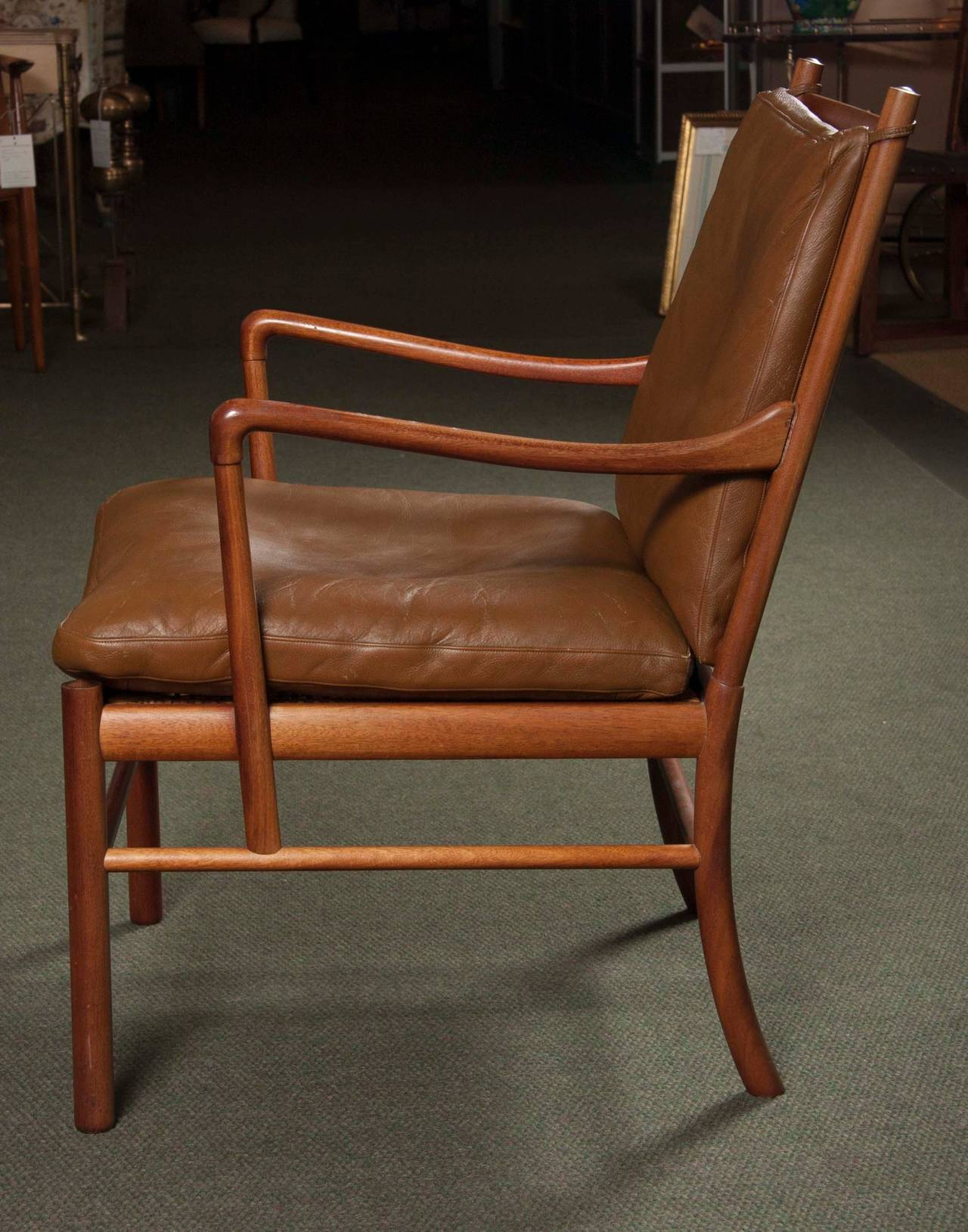 Ole Wanscher Rosewood Colonial Chair OW 149 at 1stdibs