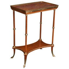 Directoire Style Occasional Table