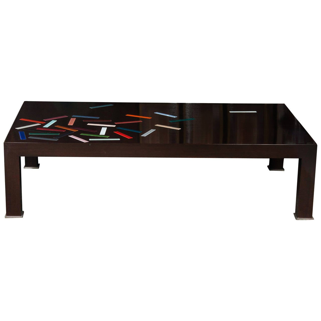 Glass pieces coffee table for sale at 1stdibs for Glass coffee tables for sale
