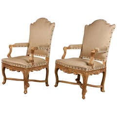 Pair of Regency Armchairs