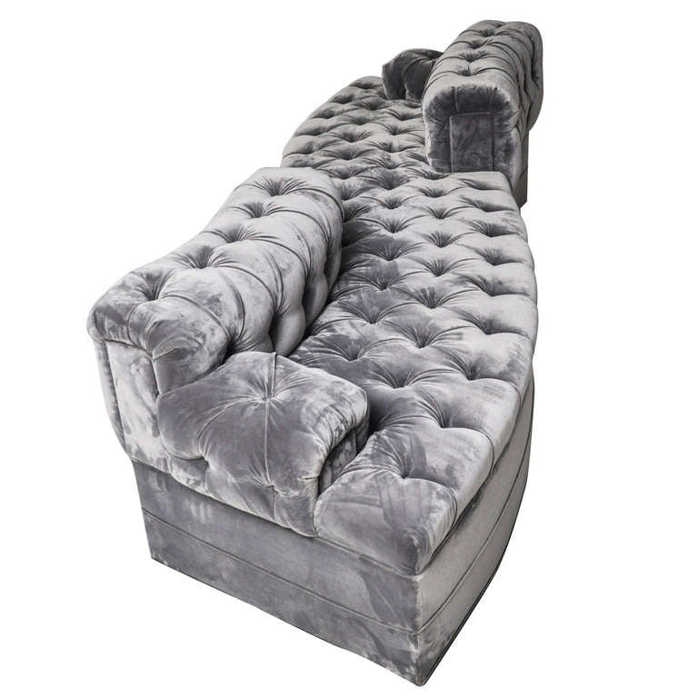 Tete A Tete Chesterfield Sofa At 1stdibs