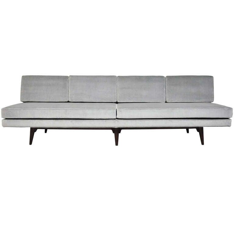 dunbar armless sofa edward wormley 1