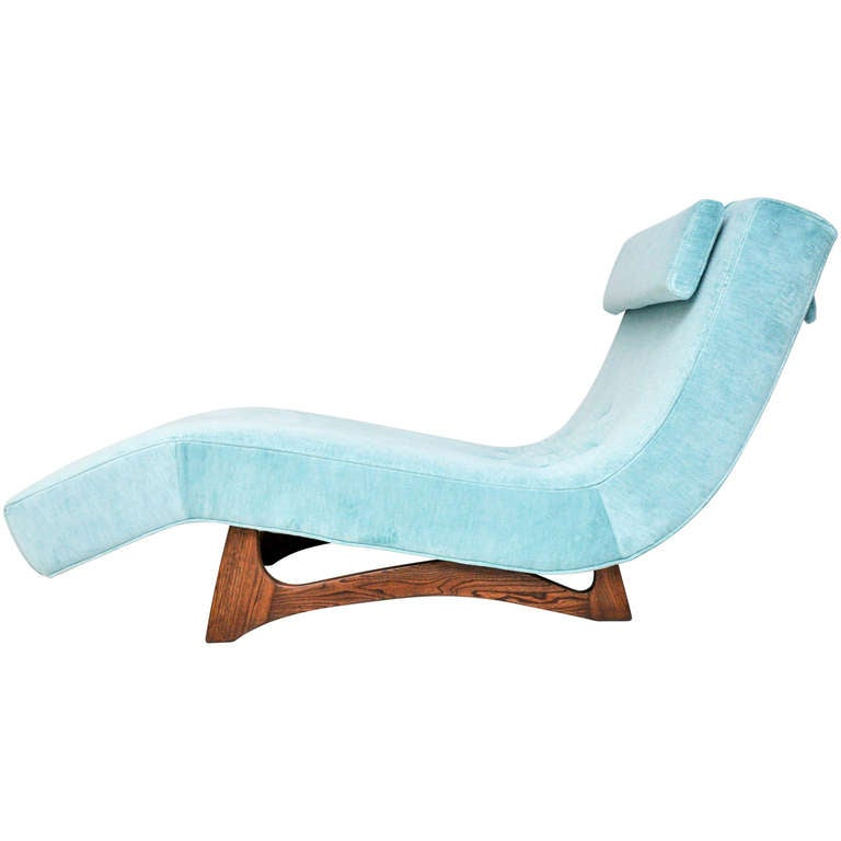 Adrian pearsall wave chaise for sale at 1stdibs for Chaise longue wave