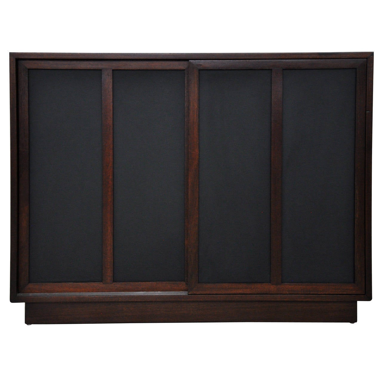 1280 #5A3A34 This Harvey Probber Chest With Leather Doors Is No Longer Available. save image Harvey Doors 43271280