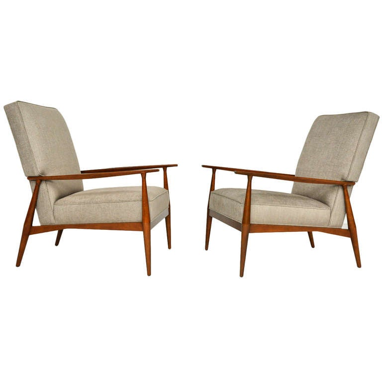 Paul McCobb Lounge Chairs at 1stdibs