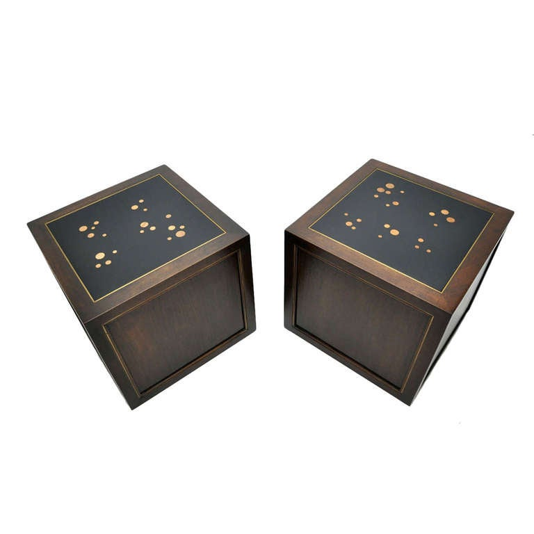 "Dunbar ""Constellation"" Cube Tables"