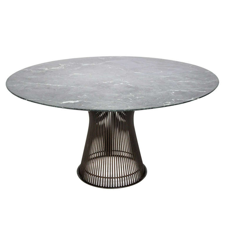 Warren platner dining table at 1stdibs for Table warren platner