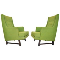 Dunbar High Back Lounge Chairs by Edward Wormley