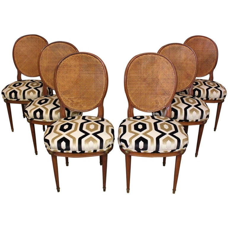set of 6 american directoire style side chairs early 20th c at 1stdibs