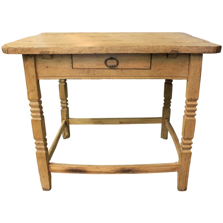 19thc Chinese Pine Side Work Table At 1stdibs