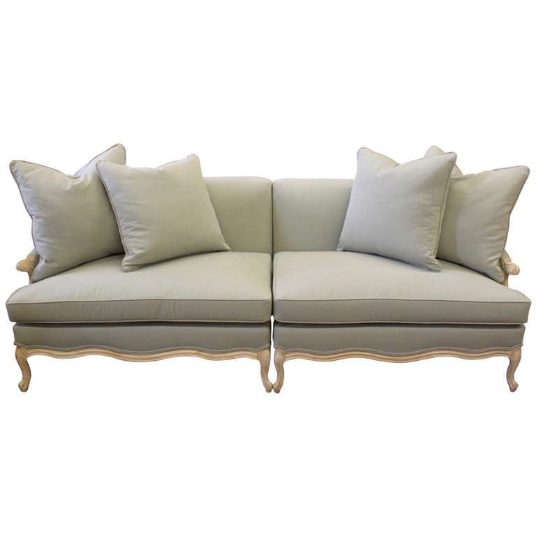 Mid Century French Style Sectional Sofa At 1stdibs