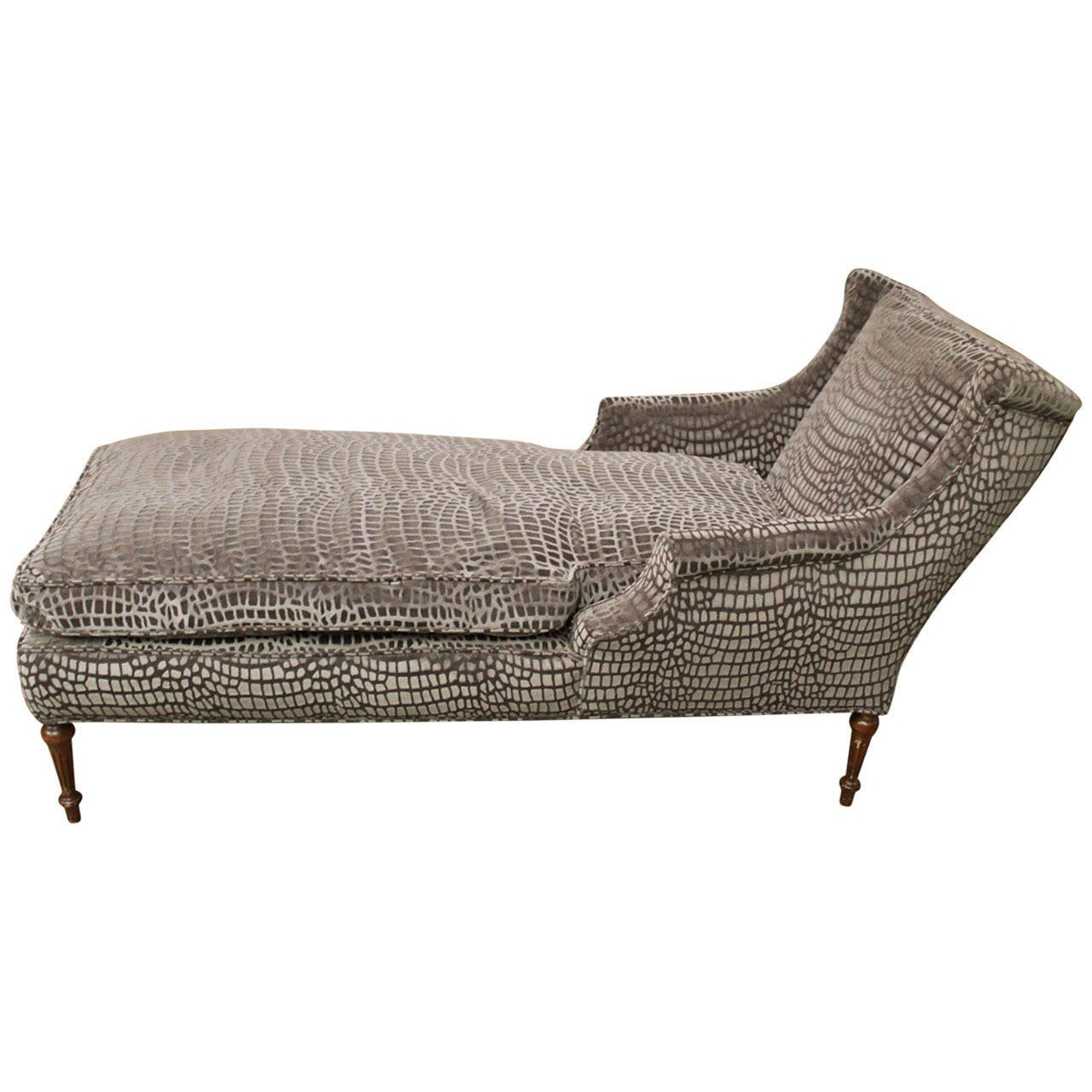 French chaise longue at 1stdibs for Chaise longue france