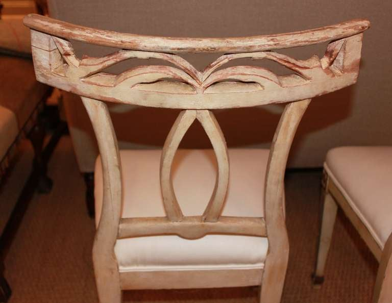 Fabulous Pair Italian Carved Chairs At 1stdibs