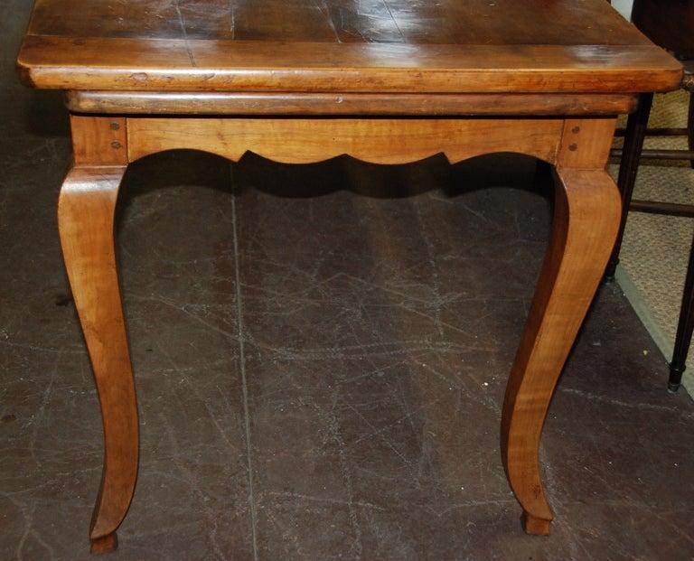 19th Century French Cherry Farmhouse Table 2