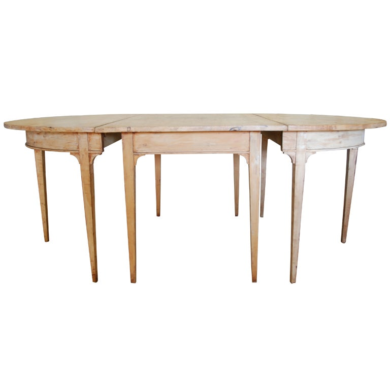 dining table gustavian swedish dining table