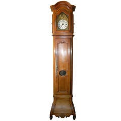French Walnut Clock