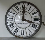 Large 19th Century French Clock Face image 2