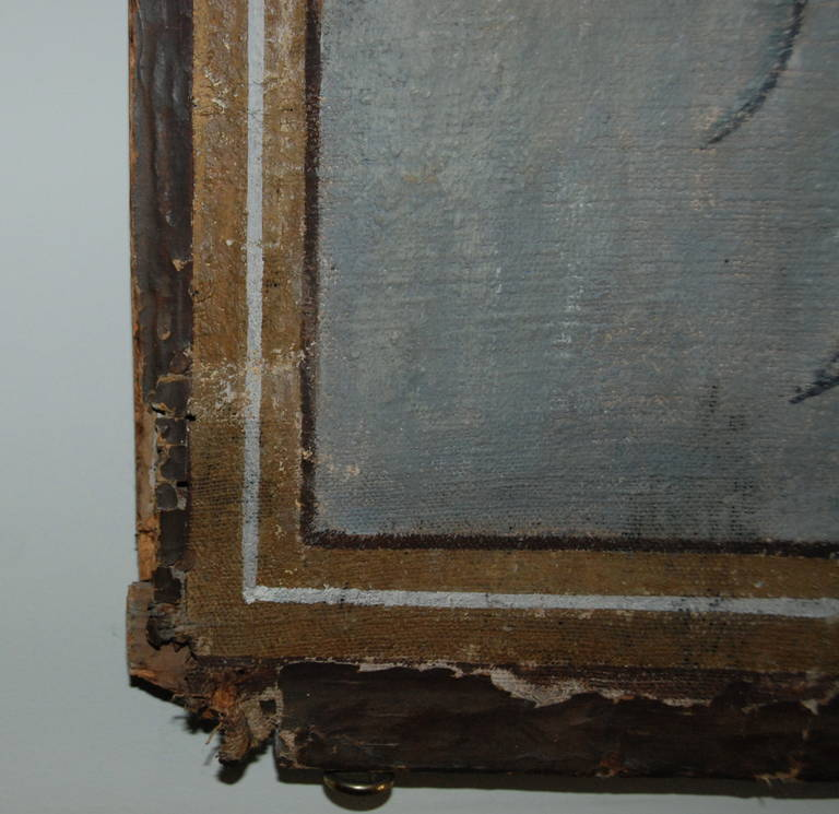 Early 19th Century French Painted Panel Screen At 1stdibs