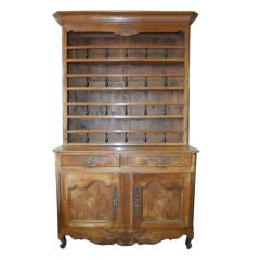 Early 19th Century Walnut Vaisselier